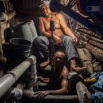 Un día en la mina de Larimar