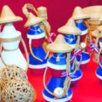 La artesanía dominicana de fiesta