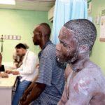 Obreros resultan heridos en una mina de larimar
